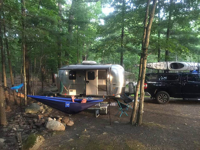 campsite with hookup near me