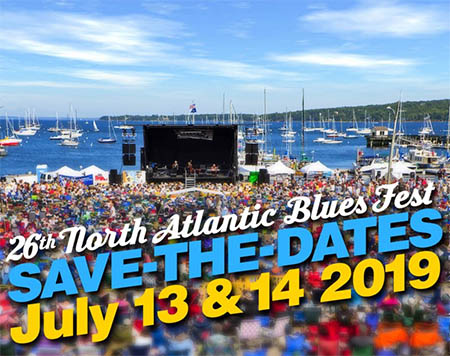 26th North Atlantic Blues Fest - July 13 and 14 2019 - stay at Megunticook and enjoy the show